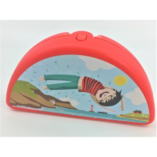 Tupperware Strand Junge Lunch Box rot Dose Behälter NEU
