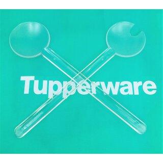 Tupperware Diamant Salatbesteck Glasoptik NEU