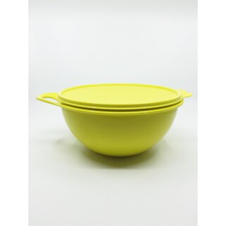 Tupperware Maximilian gelb 2,75 l Rührschüssel Schüssel mit Deckel NEU
