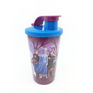 Tupperware Frozen Eisköngin Trinkbecher Olaf Anna und Elsa von die Eiskönigin II 300 ml NEU