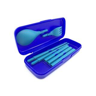 Tupperware Besteck Essstäbchen Picknick Set zum Mitnehmen NEU
