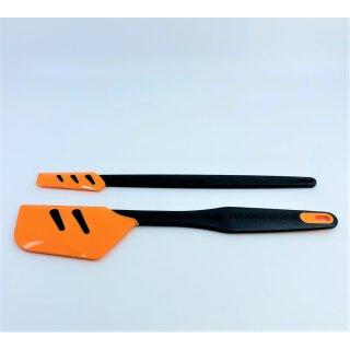 Tupperware Set großer Top Schaber orange + kleiner Top Schaber orangeTeigschaber D167 NEU
