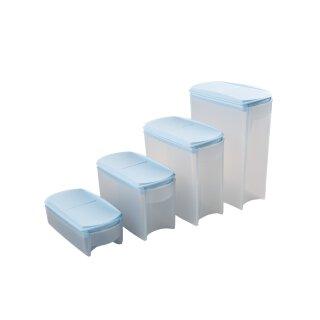 Tupperware Set Eidgenosse hellblau 4- teilig 2,2 + 1,6 + 1 l + 350 ml Vorratsbehälter NEU