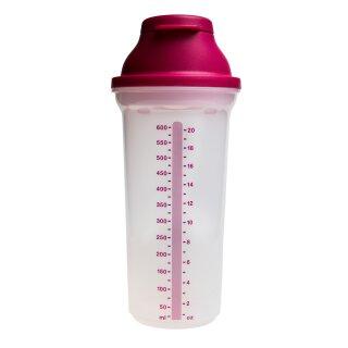 Tupperware Shaker brombeer rosa Shake It Mix Fix 600 ml NEU
