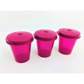 Tupperware Wichtel pink 3 x 60 ml NEU