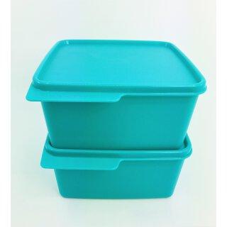 Tupperware Set 2 x Frische Ecke 1,2  l grün Behälter mit Deckel NEU
