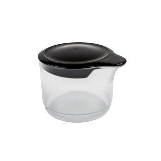 Tupperware Tupper Time 250 ml  Zuckerstreuer Milch Sahne Marmelade Dips Kippdeckel schwarz / transparent NEU