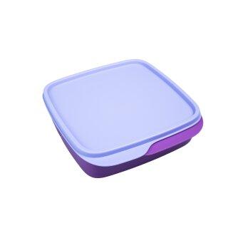 Tupperware Clevere Pause lila + Deckel helllila Frühstück Lunchbox NEU