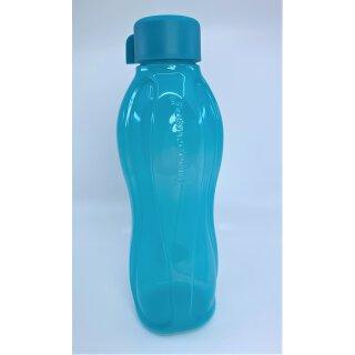 Tupperware Trinkflasche 1l türkis Schraubverschluß Eco Easy caribean Sea NEU