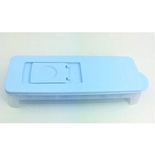 Tupperware Eiswürfler hellblau transparent Eiszauber Eiswürfelbehälter  NEU