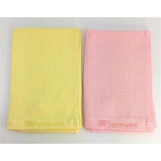 Tupperware Set Faser Pro Fenster Set gelb + rosa NEU